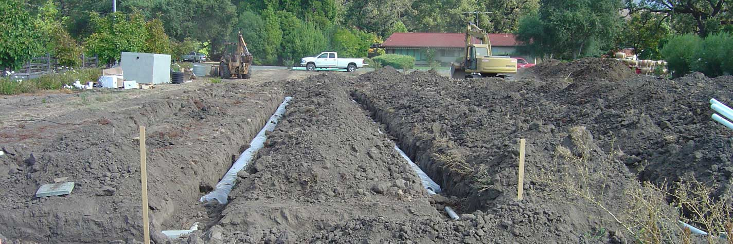 Bell Winery New Septic System in Napa California